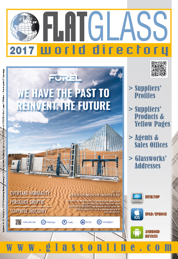Cover of Flat Glass World Directory n.1/2017