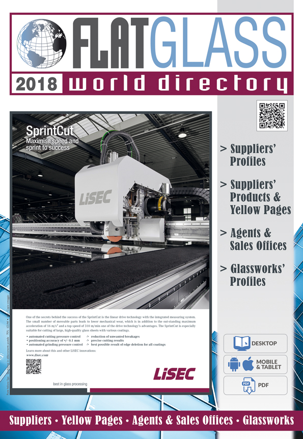 Cover of Flat Glass World Directory n.1/2018
