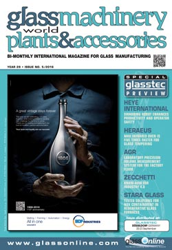 Cover of Glass Machinery Plants & Accessories n.5/2016