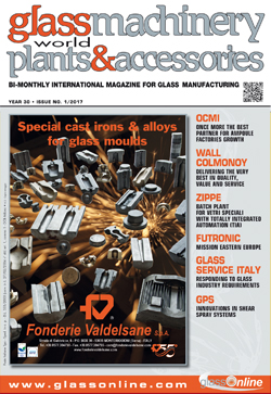 Cover of Glass Machinery Plants & Accessories n.1/2017