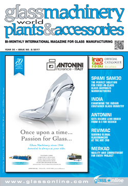 Cover of Glass Machinery Plants & Accessories n.2/2017