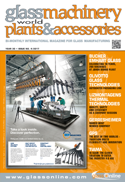 Cover of Glass Machinery Plants & Accessories n.4/2017