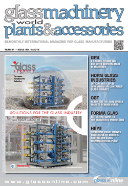 Cover of Glass Machinery Plants & Accessories n.1/2018