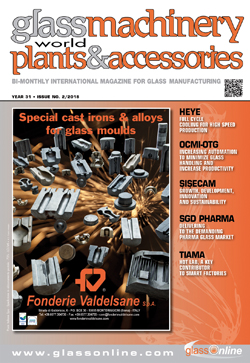 Cover of Glass Machinery Plants & Accessories n.2/2018
