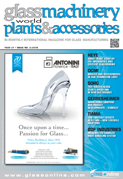 Cover of Glass Machinery Plants & Accessories n.3/2018