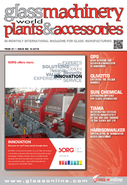Cover of Glass Machinery Plants & Accessories n.4/2018