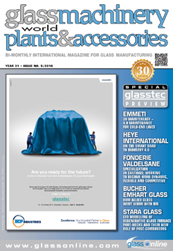 Cover of Glass Machinery Plants & Accessories n.5/2018