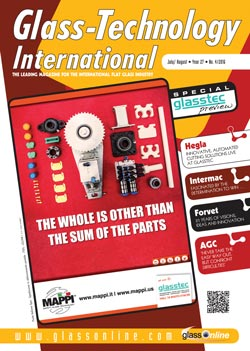 Cover of Glass-Technology International n.4/2016