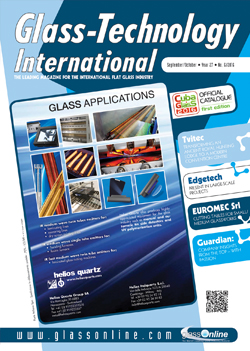 Cover of Glass-Technology International n.6/2016