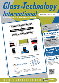 Cover of Glass-Technology International n.1/2017