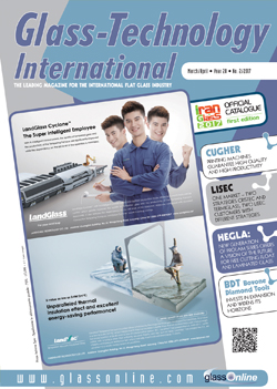 Cover of Glass-Technology International n.2/2017