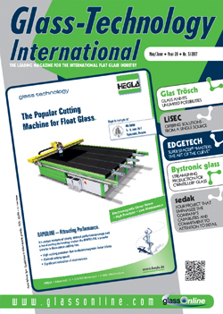 Cover of Glass-Technology International n.3/2017