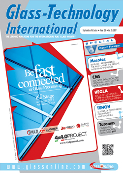 Cover of Glass-Technology International n.5/2017