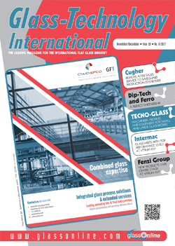 Cover of Glass-Technology International n.6/2017