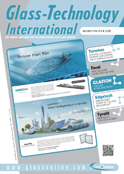 Cover of Glass-Technology International n.2/2018