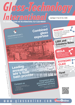 Cover of Glass-Technology International n.4/2018