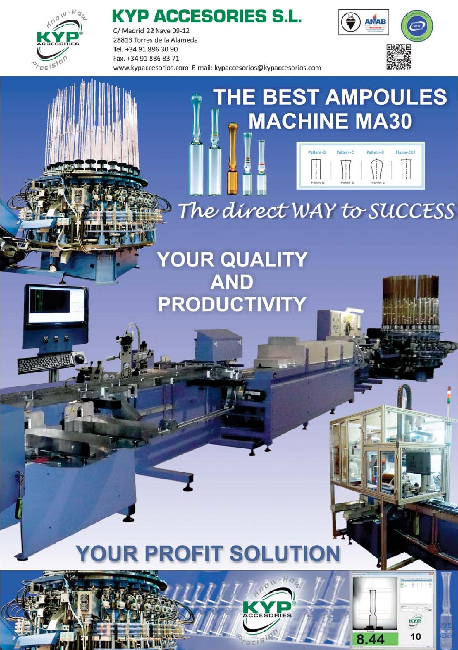 Glass Machinery Plants & Accessories n  6/2015