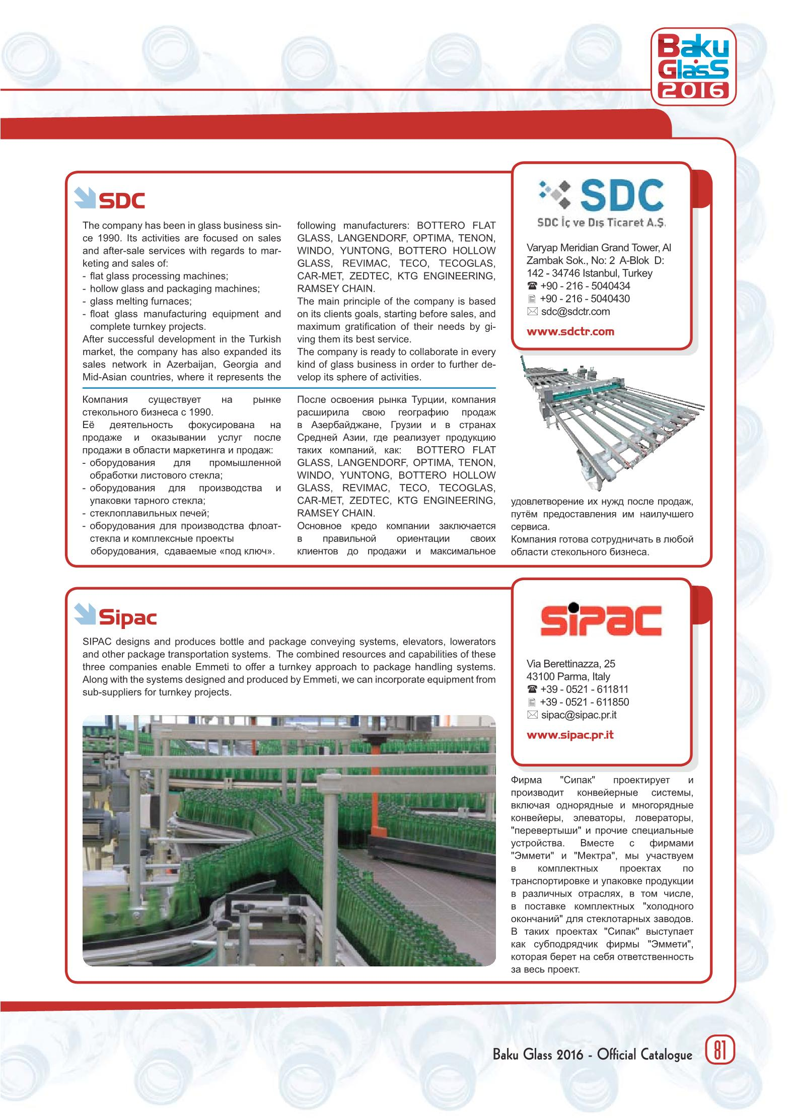 Page 83 - Glass Machinery Plants & Accessories n  1/2016