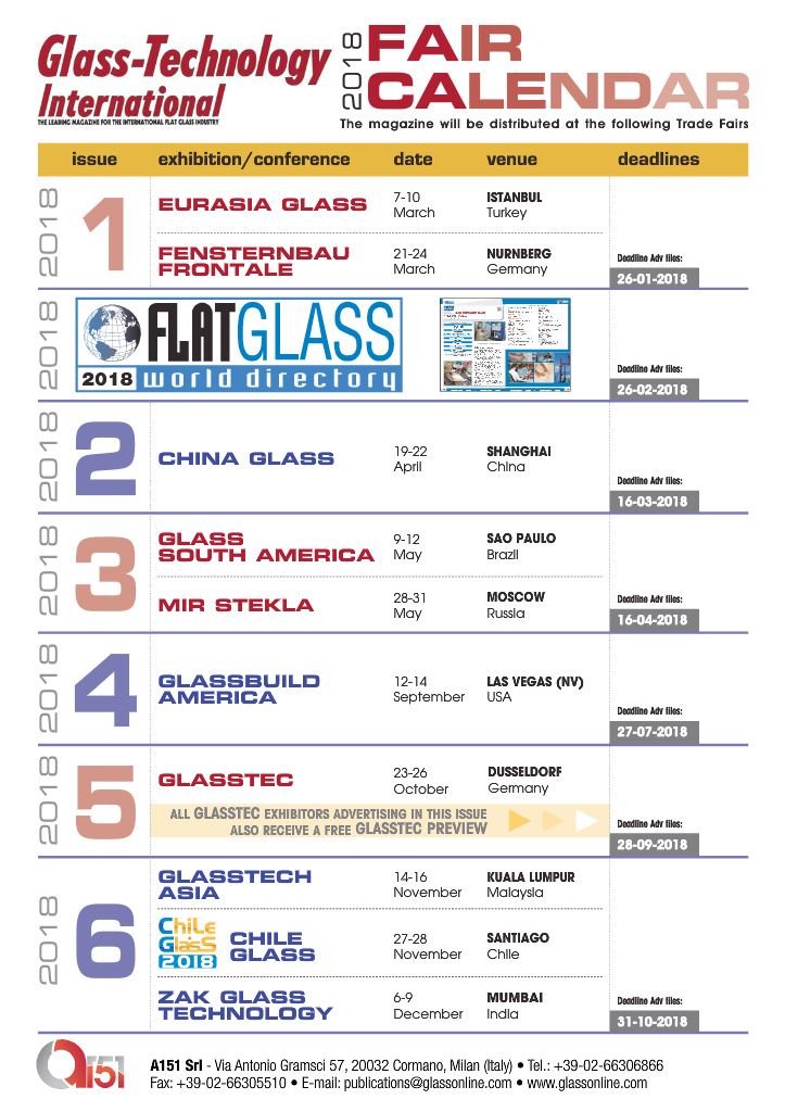 Page 16 - Glass-Technology International no  2/2018