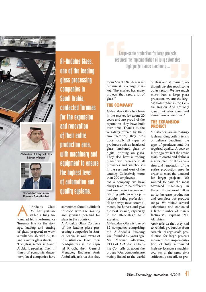 Page 43 - Glass-Technology International no  2/2018