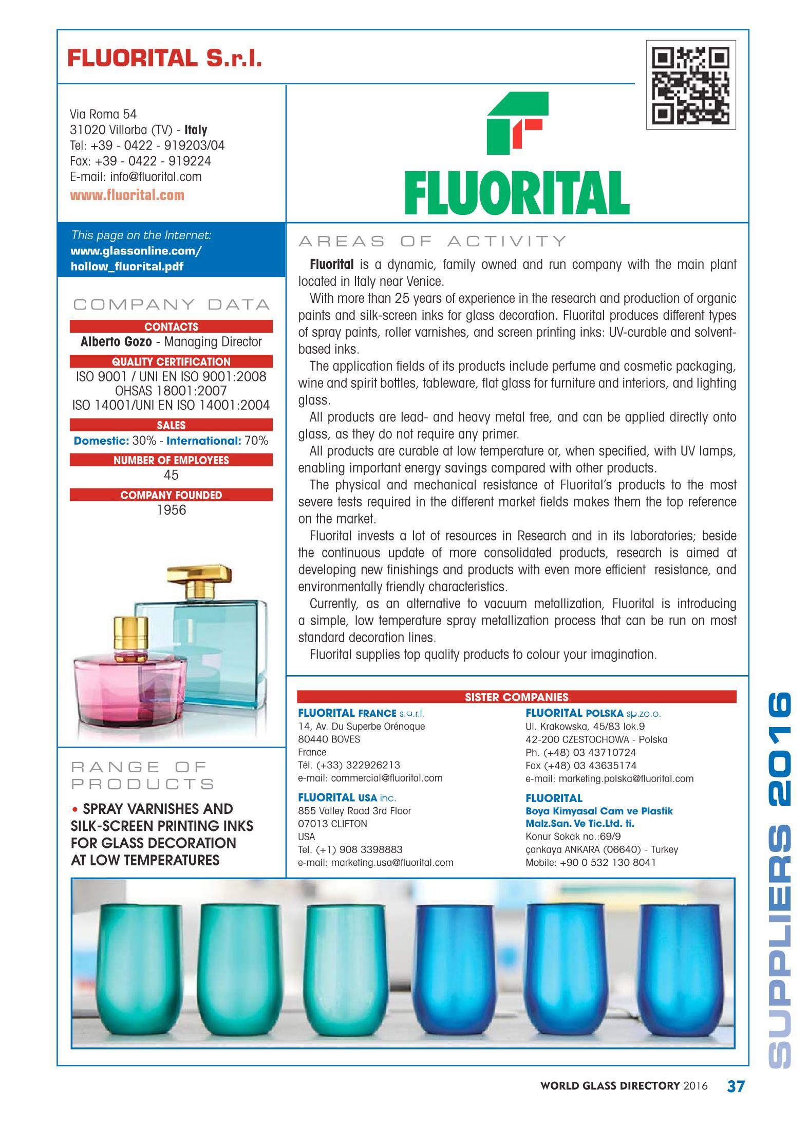 World Glass Directory 2016