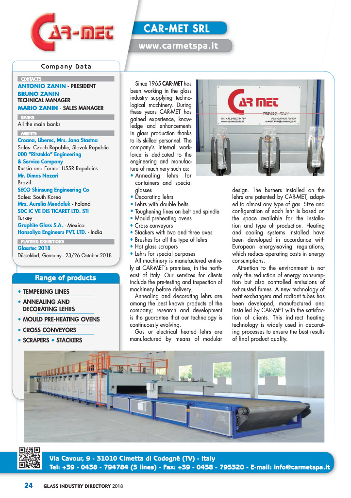 Page 26 - Glass Industry Directory 2018