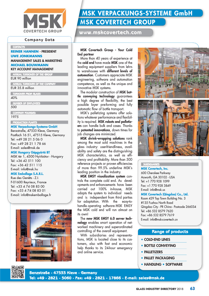 Page 65 - Glass Industry Directory 2018